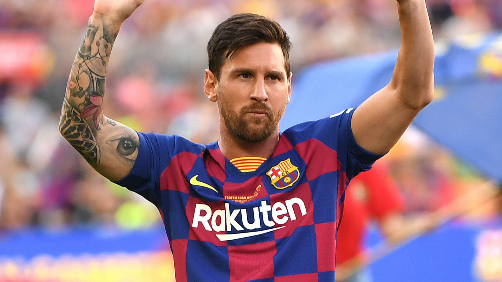 Lionel Messi wins best FIFA player of the year for record sixth time