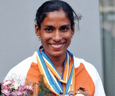 India's former athlete PT Usha honoured with Veteran Pin by IAAF in 52nd IAAF Congress in Doha, Qatar