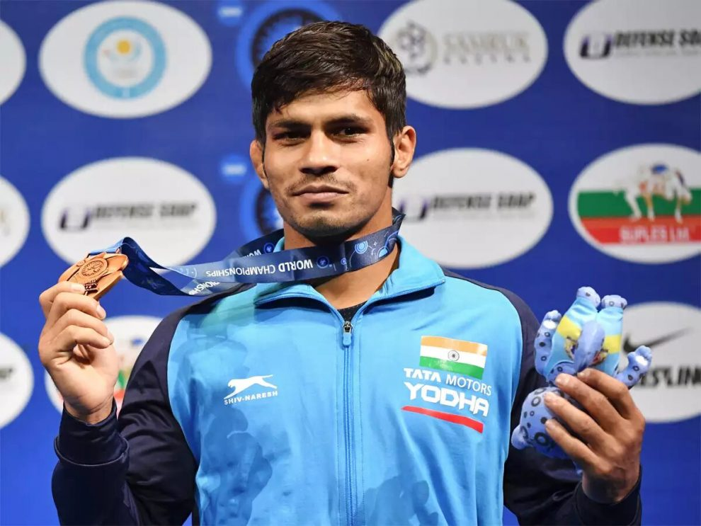 India won 5 medals at the World Wrestling Championship 2019