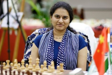 Indian chess player Koneru Hampi wins the Skolkova Fides Grand Prix title 2019 in Skolkovo, Russia